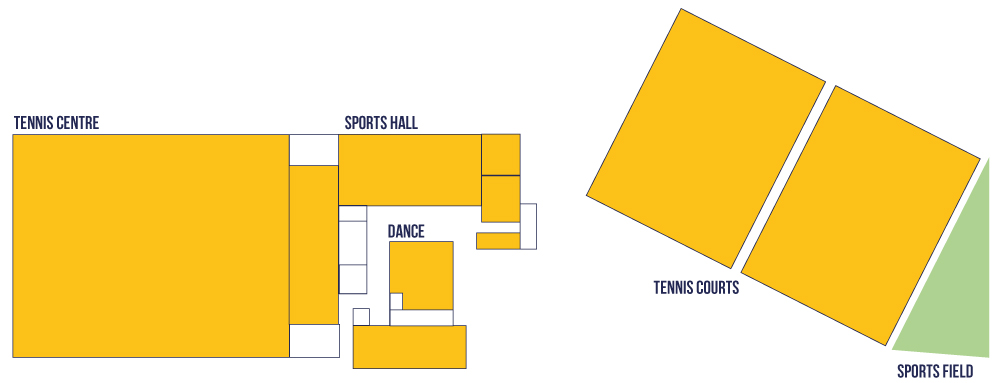 Map of The Sport Block